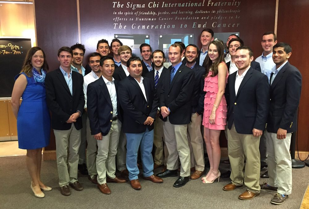 Huntsman Cancer Institute Recognizes Alpha Nu